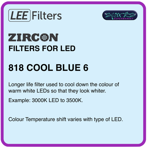 LEE ZIRCON 818 COOL BLUE 6 - L818