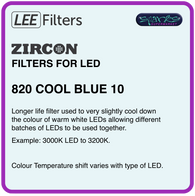 LEE ZIRCON 820 COOL BLUE 10 - L820