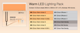 ZIRCON - Warm lighting pack - To Warm Up White Leds