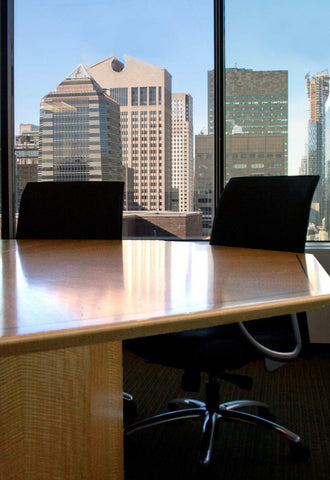 View Over Octogonal Conference Table