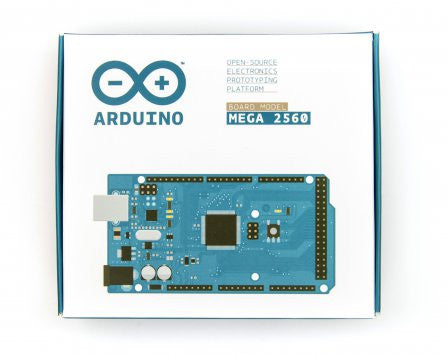 The Arduino Mega 2560 is a microcontroller board based on the ATmega2560.