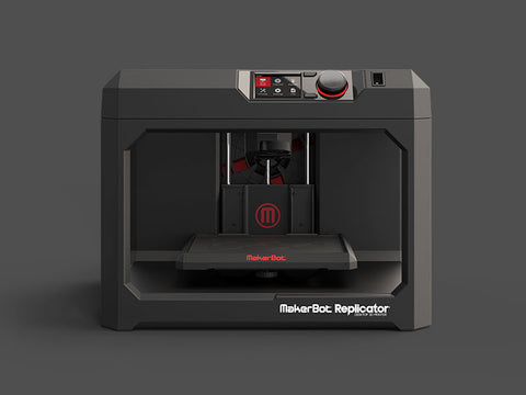 The MakerBot Replicator Fifth Generation is the new standard in desktop rapid prototyping. Go from 3D model to 3D print with ease.