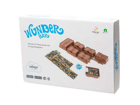relayr WunderBar Internet of Things Start Kit Packaging