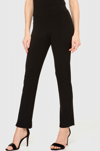 Begin with a basic black pant: