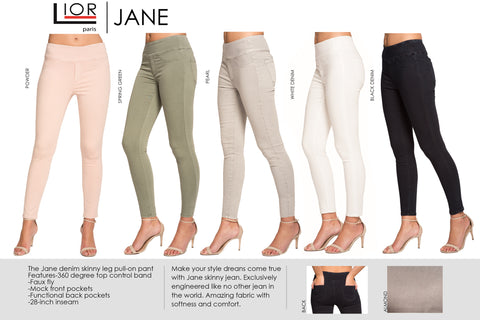 LIOR PARIS Jane skinny 12 Colors/Specialty colors