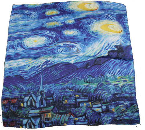 Winding River Scarf Starry Night