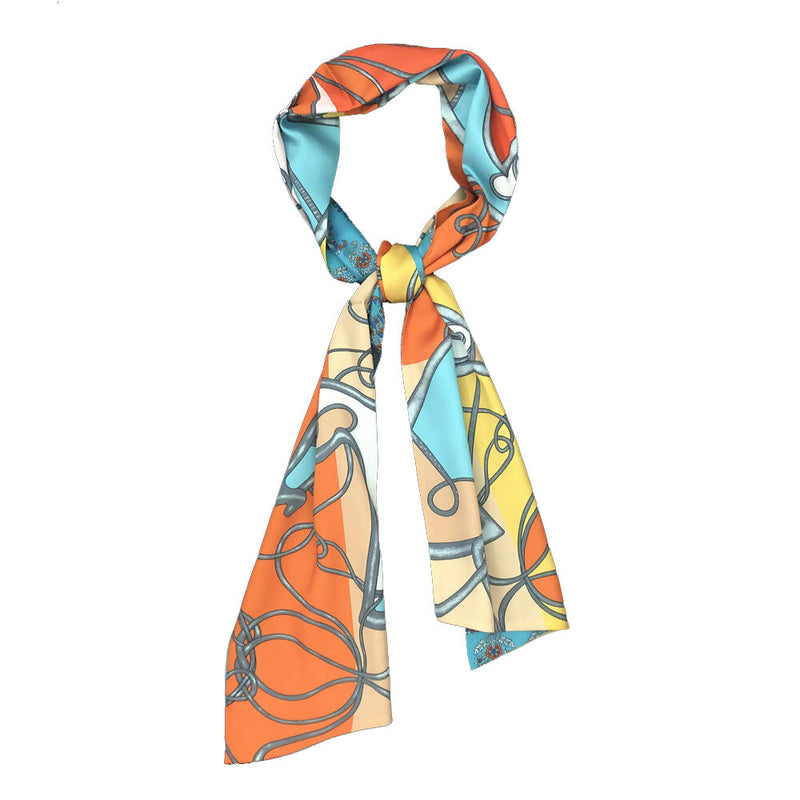 Winding River Turquoise bow scarf