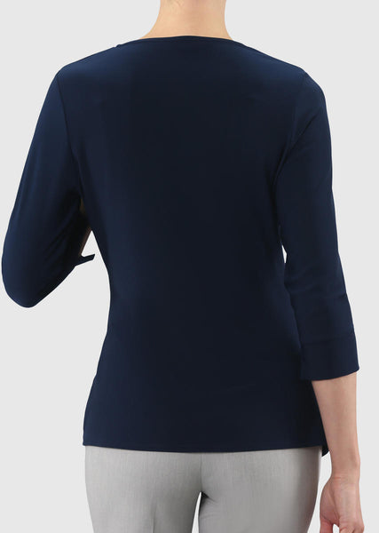 LISETTE L TOP 171276 - NAVY