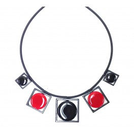 Thierry Joo Enamel 1A3 BLK/RED