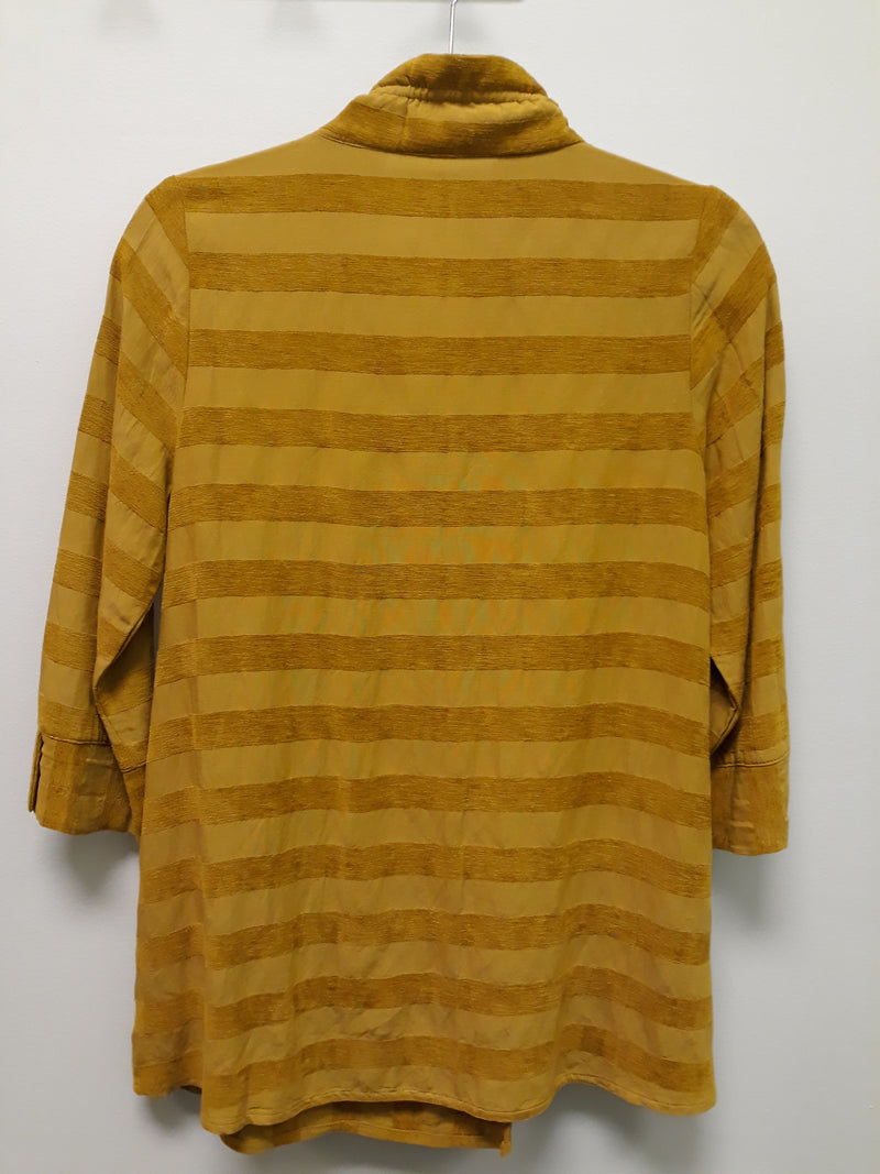 TERRA TUNIC TOP T5223 MUSTARD - FINAL SALE