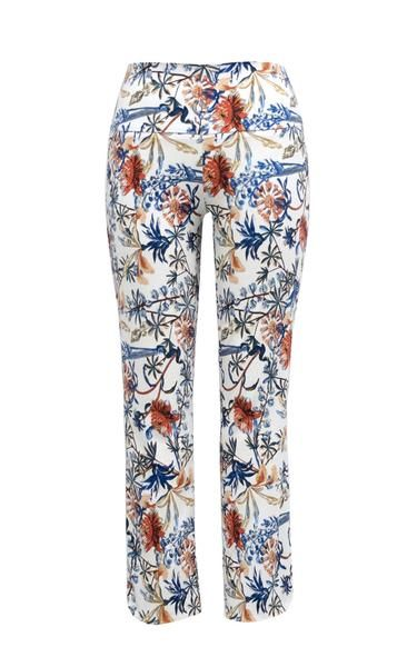 UP Pants White Floral Power Print 65336UP
