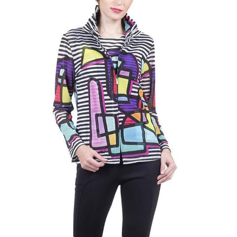 Just In! Damee Picasso Art Print Twin Set in Multicolor - 31368-MLT