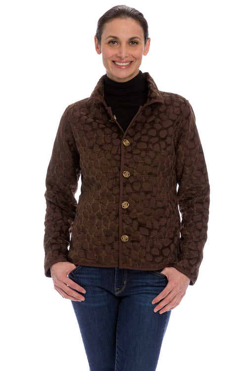 Winding River Reversible Artisan jacket: Earth Brown Signature Classic Jacket