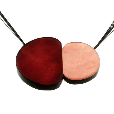 Front Magnetic Jewelry Necklace 4063-59