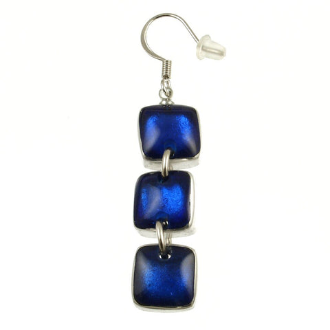 Resin & Shell Silver Jewelry Ear 461-29