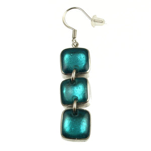 Resin & Shell Silver Jewelry Ear 461-2