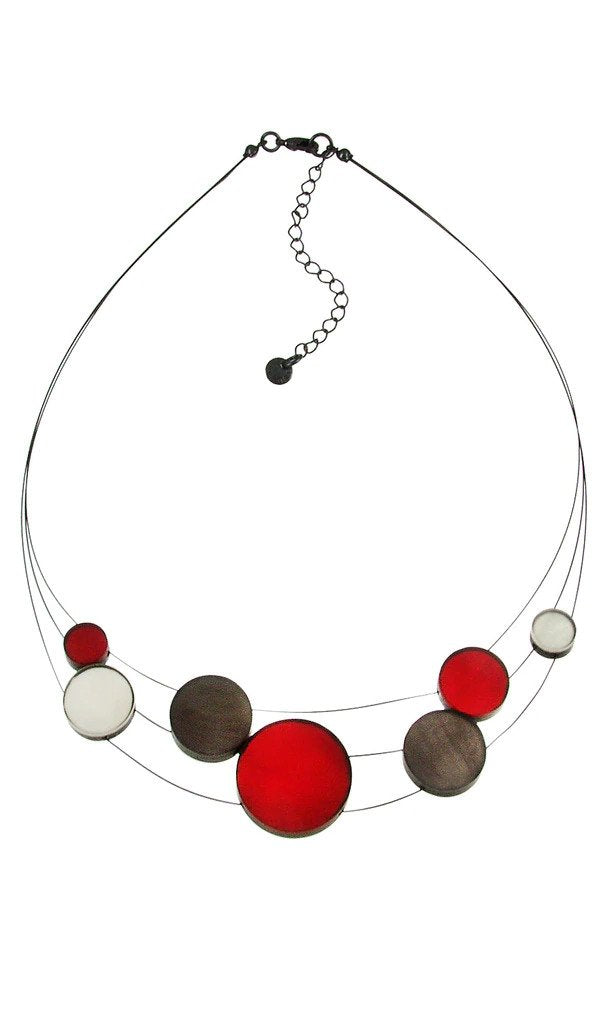 Resin & Shell Jewelry Necklace 4961-1