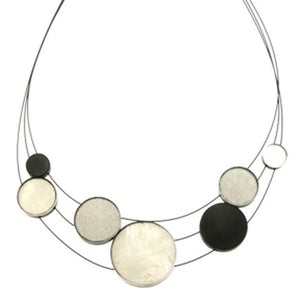 Resin & Shell Jewelry Necklace 4961-88