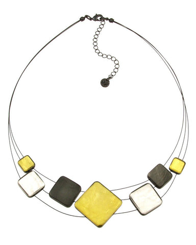 Resin & Shell Jewelry Necklace 5032-89