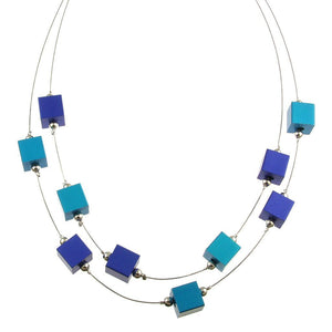 Color Cubes Magnetic Jewelry Necklace 5144-28