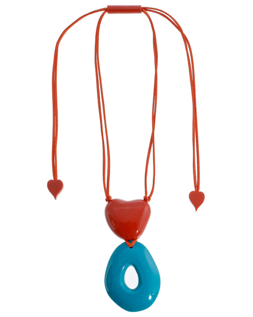 Zsiska ACAPULCO: 3-bead adjustable necklace