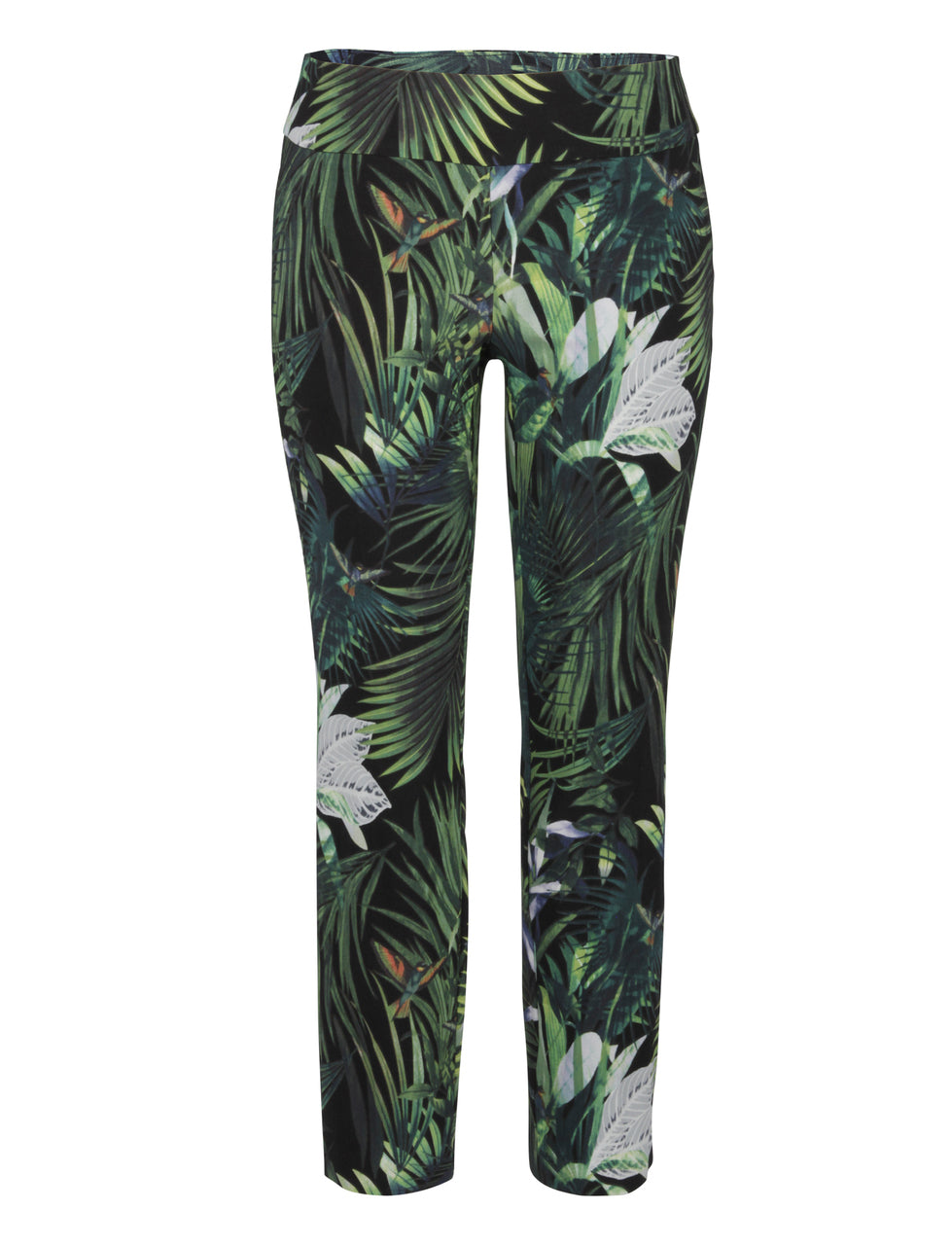 UP Pants Green Utopia Print 6577UP