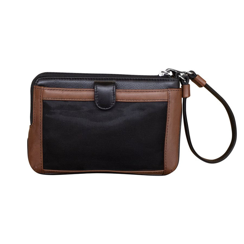 ILI NEW YORK BLACK TOFFEE WRISLET WITH TOUCHSCREEN POCKET 6834