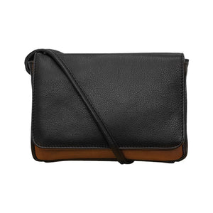 ILI NY BLACK TOFFEE CLUTCH CROSSBODY WITH TOUCHSCREEN POCKET 6851