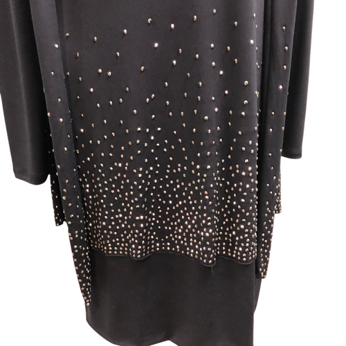 Cartise Black Dress with Sparkle XS