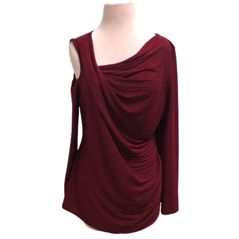 Cartise Top Burgundy