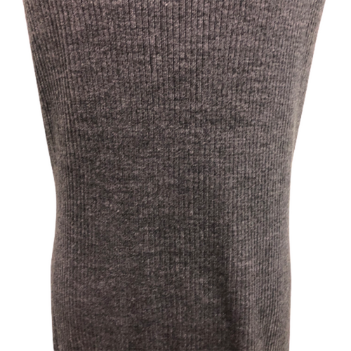Charcoal Knit Vest with Pockets Size XL
