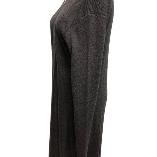 Claudia Nicole Long Cardigan Gray/Black L - XL
