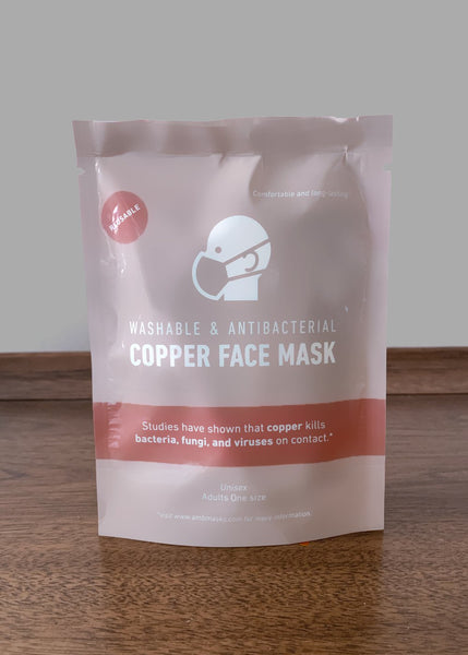 Antibacterial Copper Face Mask