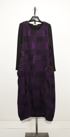 MOONLIGHT PURPLE BOHO DRESS D2929