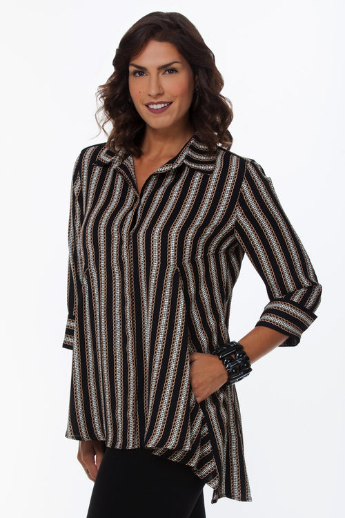 Lior Daisy Shirt - New Take On Stripes DAISY-2-S
