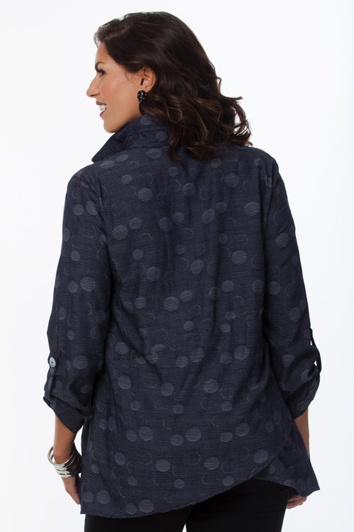 Ellie Shirt-Monochromatic Dots