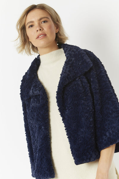 JAYLEY ONE SIZE FF5019A-D08 - Faux Fur Jacket - FINAL SALE
