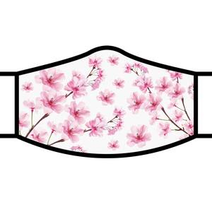 Art inspired masks: Cherry Blossoms