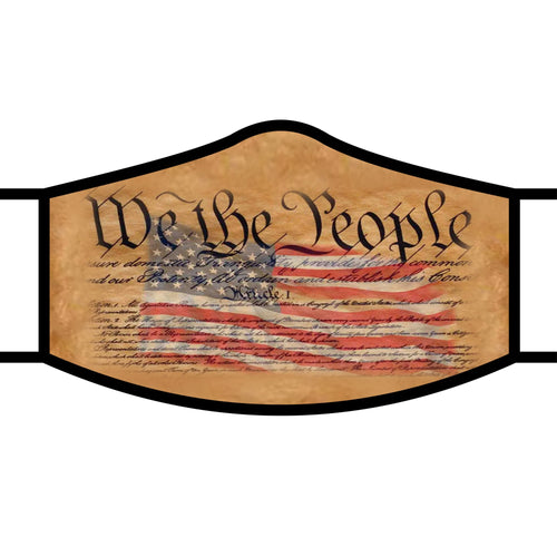 Art inspired masks: We the People
