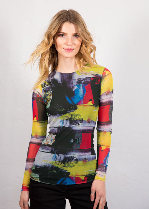 Modern Art - Florence Double Sheer Top