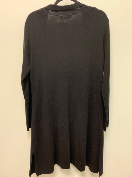 CLAUDIA NICOLE BLACK CASHMERE LONG CARDIGAN LFM16000 - FINAL SALE