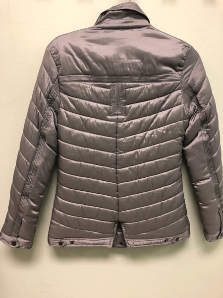 KATHERINE BARCLAY GREY PUFF JACKET K3801