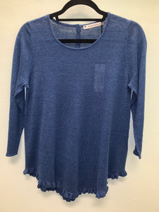 MANSTED KNIT TOP PIM - DARK INDIGO