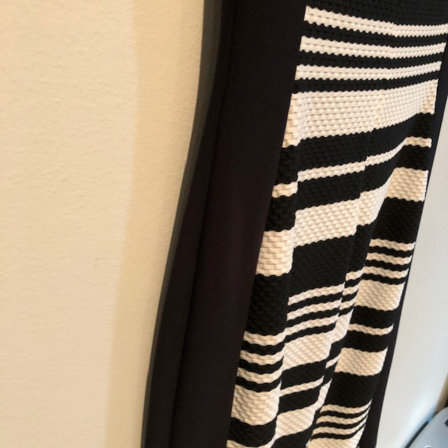 Joseph Ribkoff black & white dress size 10