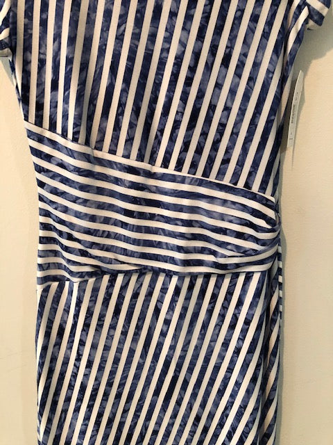 Cartise blue/white Dress Size 6