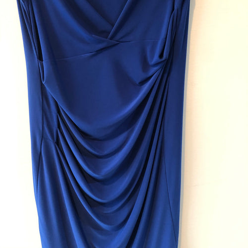Royal blue sleeveless dress by Cartise Size 10