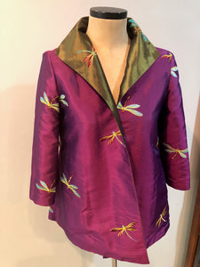 Grace Chuang Long Jacket 2273-1205 Size M