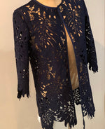 Grace Chuang Long Lace Jacket 2557 Size M