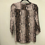 Animal print top by Kris Fashion, S M L