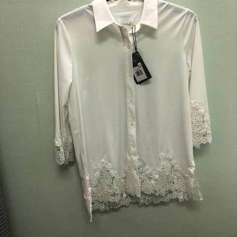 Lace top by Lysse White, M